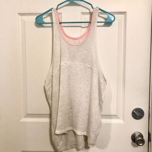 Free People we the free white sweater tank top